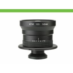 Cambo Lensplate with Cambo 24mm WA Lens (black finish)
