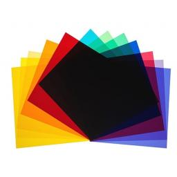 Colour filters for P70, set of 12 pieces
