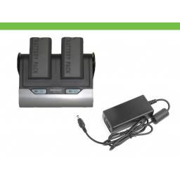 Dual Charger for Aptus batteries with 12v Power Supply