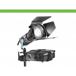 HMI F200 lamp without bulb and reflector