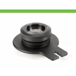 Cambo Lensplate with Cambo 80mm Lens (black finish)