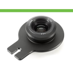 Cambo Lensplate with Cambo 120mm Lens (black finish)