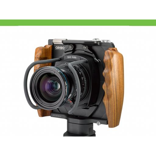 WRS Camera Body with Wooden Handgrips