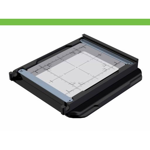 Universal Groundglass Frame for SLW adapterplates