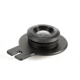 Cambo Lensplate with Cambo 90mm Lens (black finish)