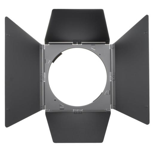 4-leaf barn door for Open Face and PAR reflector for HMI F200