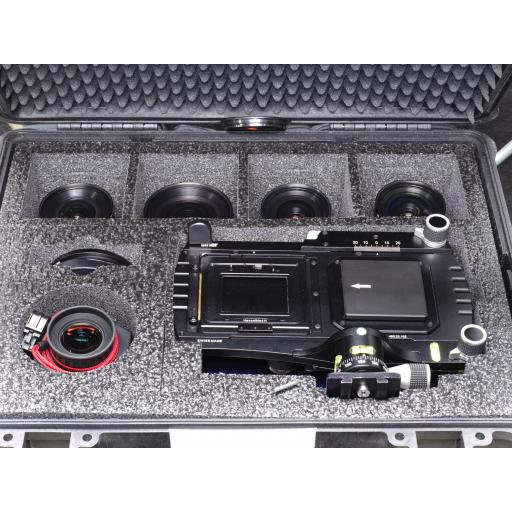 Pre-owned Sinar arTec Technical camera Complete Kit inc. 4 x lenses