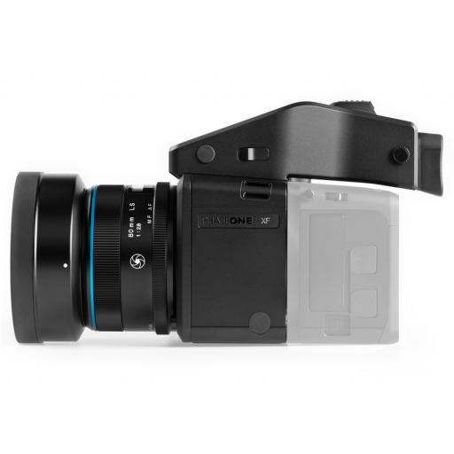 XF Camera Body, Prism Viewfinder, 80mm LS Lens