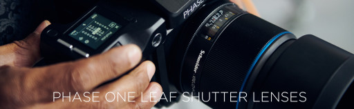 Phase One Leaf Shutter Lenses