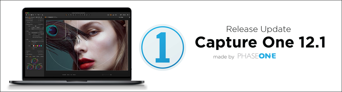 Capture One update version 12.1 released