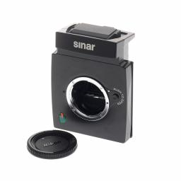 Sinar M Shutter/Camera Mirror module for Nikon Mount lenses