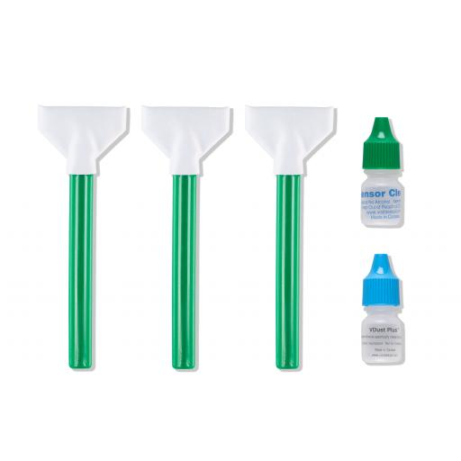 Phase One Visible Dust Cleaning kit (3 Swabs / 2 Fluids)