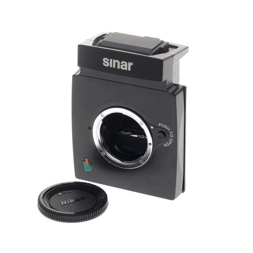 Used Sinar M Shutter/Camera Mirror module for Nikon Mount lenses