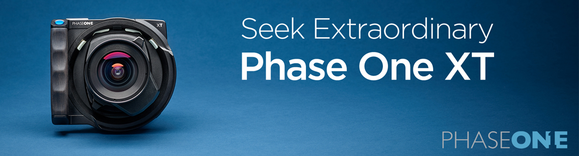Experience Extraordinary with the NEW  Phase One XT Camera