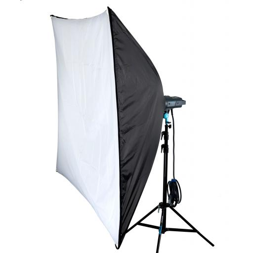 Used Broncolor PulsoFlex C 150cm x 150cm Softbox with Speedring