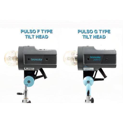 Broncolor Pulso G Tilt Head Adapter Kit