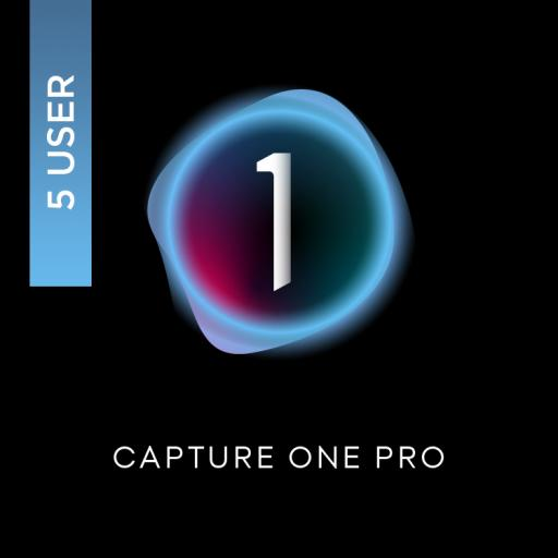 Capture One Pro 21 Multi User 5 Mac or Windows (5 Perpetual User Licence)