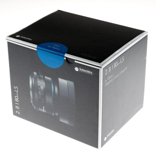 Used Phase One Schneider f2.8/80mm Blue Ring LS Lens with Hood