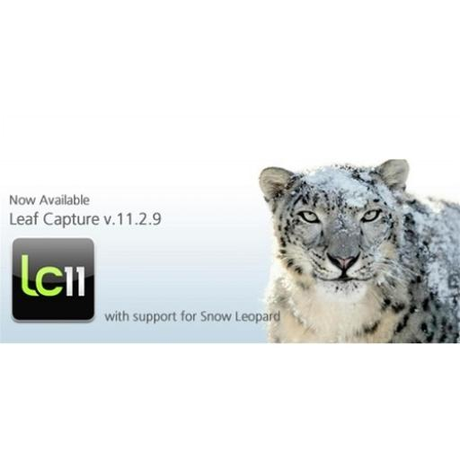 Leaf Capture 11.2.9 software 64bit download - for Snow Leopard users