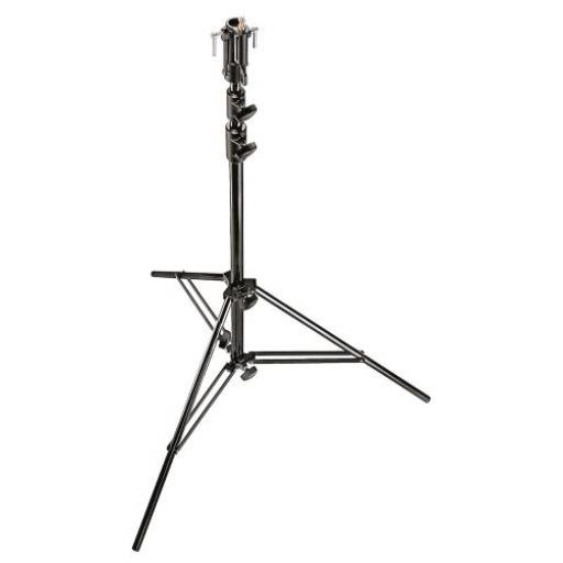 Manfrotto Black Chrome Plated 3-Section Steel Stand
