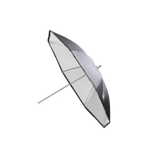 """umbrella white/black √ò 85 cm (33.5"""")"""