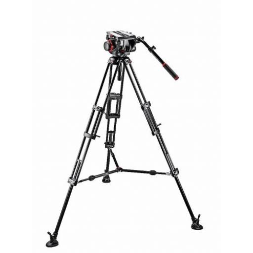 509 Fluid Video Head & 545B Alu Twin Leg Tripod