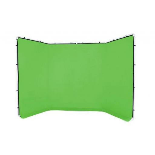Lastolite Panoramic Background Cover 4m Chroma Key Green