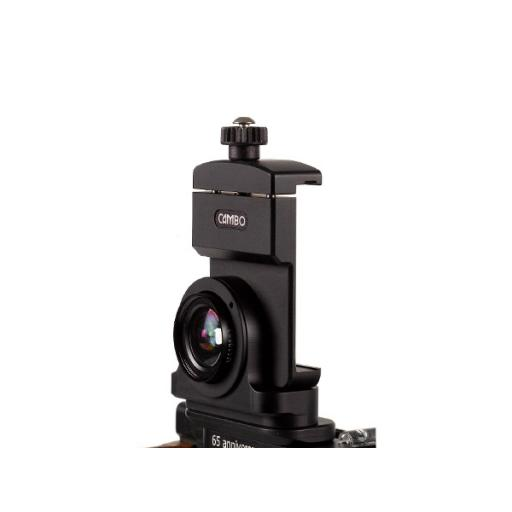 iPhone Holder incl. WA-Lens (requires mounting adapter)