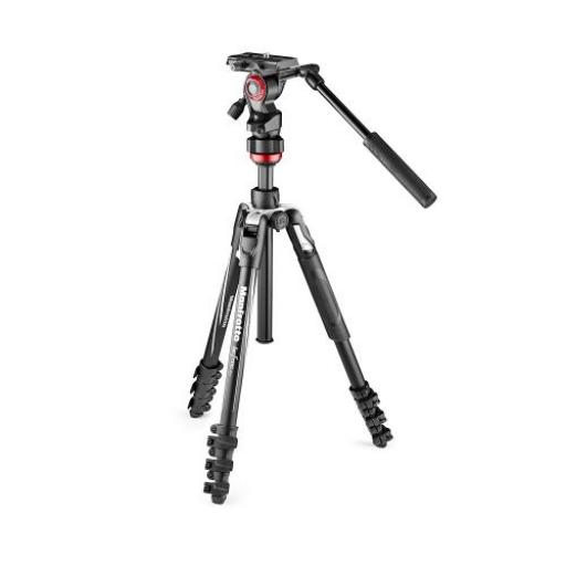 Befree Live Aluminium Tripod Lever, Video Head