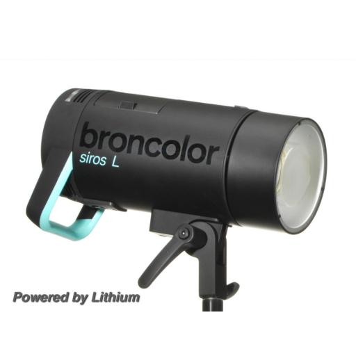 Broncolor Siros 400 L WiFi / RFS 2.1 incl. Flash Bag 1.1