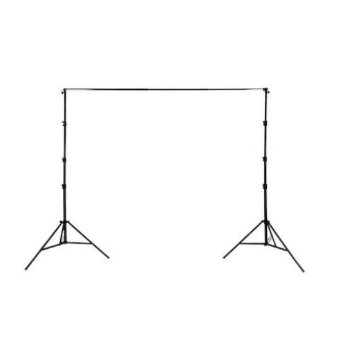 Support for 3m Curtain & Roll Up Backgrounds (Metal Collars)