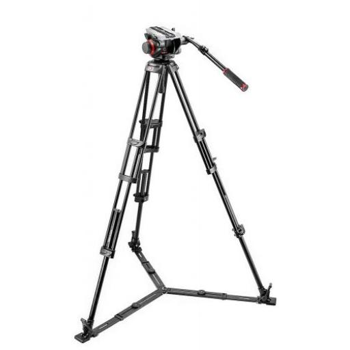 Manfrotto 504 Fluid Video Head & 546GB Alu Twin Leg Tripod