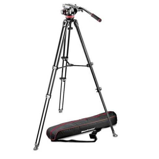 502 Fluid Video Head&MVT502AM Alu Twin Leg Tripod