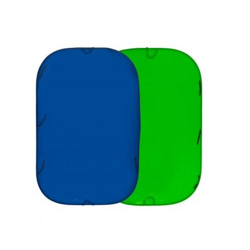 Lastolite Collapsible Reversible 1.8 x 2.1m Chromakey Blue/Green