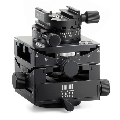 Arca Swiss C1 Cube GP Tripod Head Geared Panning with Quickset Classic Device