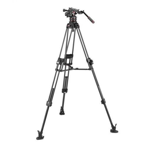Manfrotto Nitrotech 612 series with 645 Fast Twin Carbon Tripod