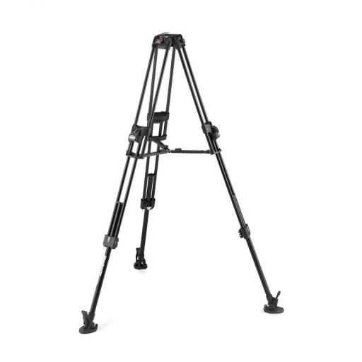 Manfrotto Nitrotech 608 series with 645 Fast Twin Alu Tripod