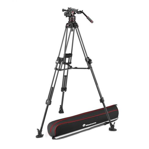 Manfrotto Nitrotech 612 series with 645 Fast Twin Carbon Tripod (With a FREE 2 in 1 Tripod Spreader)