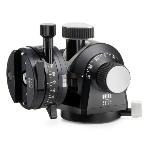 Arca Swiss D4 GP Geared Panning Tripod Head with MonoballFix Device