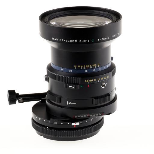 RENTAL - Mamiya RZ 75mm f4.5W Sekor Shift Lens