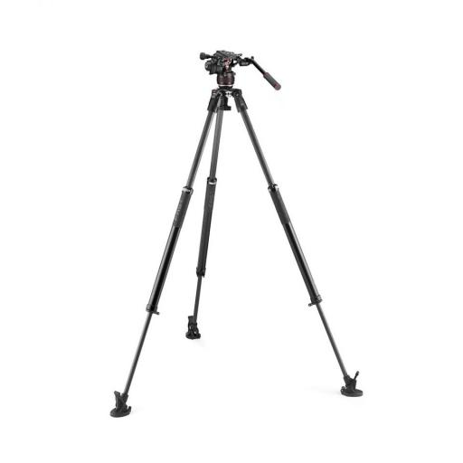 Manfrotto Nitrotech 608 series with 635 Fast Single Leg Carbon Tripod