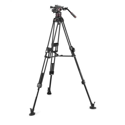 Manfrotto Nitrotech 612 series with 645 Fast Twin Alu Tripod