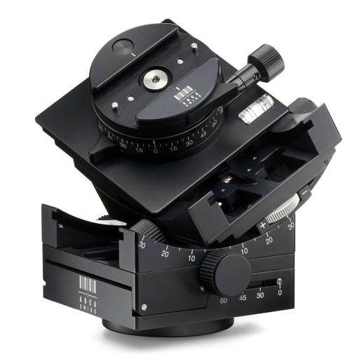 Arca Swiss C1 Cube GP Tripod Head Geared Panning with MonoballFix Device