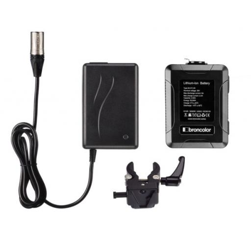 Broncolor Li-Ion Battery 36 V XLR Kit for LED F160
