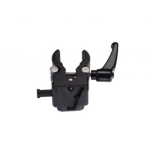 Broncolor V-Mount stand clamp for Li-Ion battery 36 V XLR for LED F160
