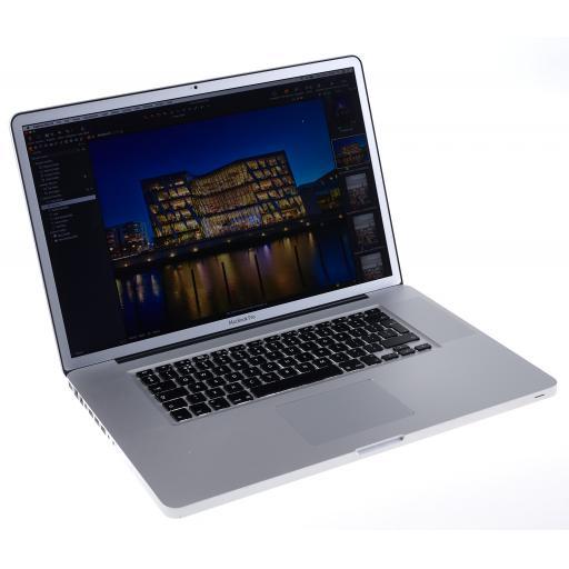 "Used Apple Macbook Pro 17"" (Anti-Glare) 16Gb RAM, 512Gb SSD - MacOS High Sierra"