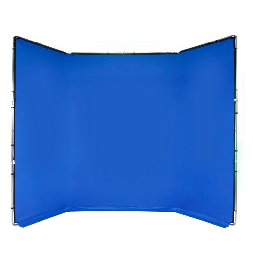 Manfrotto Chroma Key FX 4x2.9m Background Kit Blue