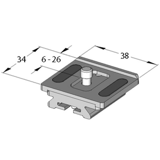 Arca Swiss Monoballfix Variokit compact plate