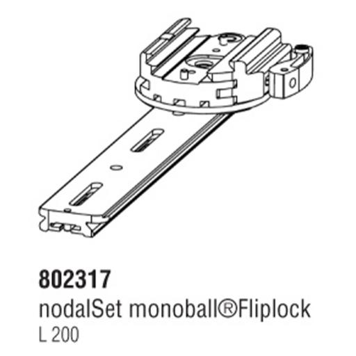Arca Swiss Nodalset with Fliplock vice