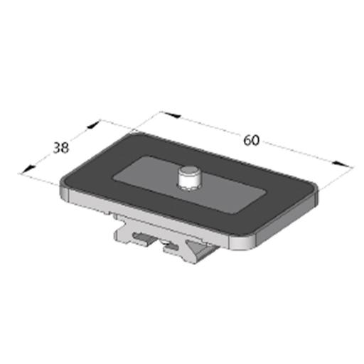 Arca Swiss MonoballFix Variokit Universal Plate